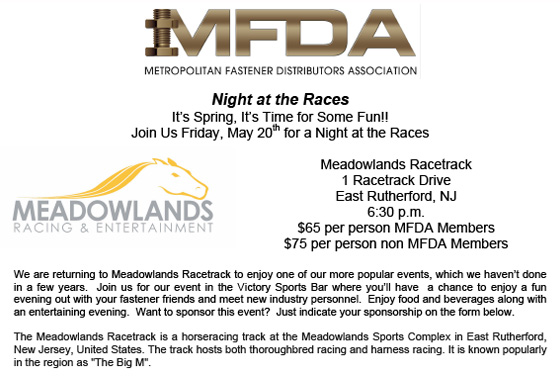 MFDA's Night at the Races
